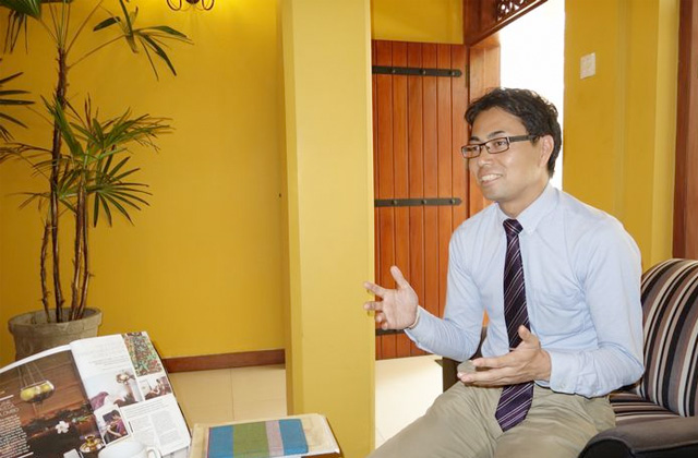 スリランカライフで「日本人経営者に聞く」として取材を受けました。