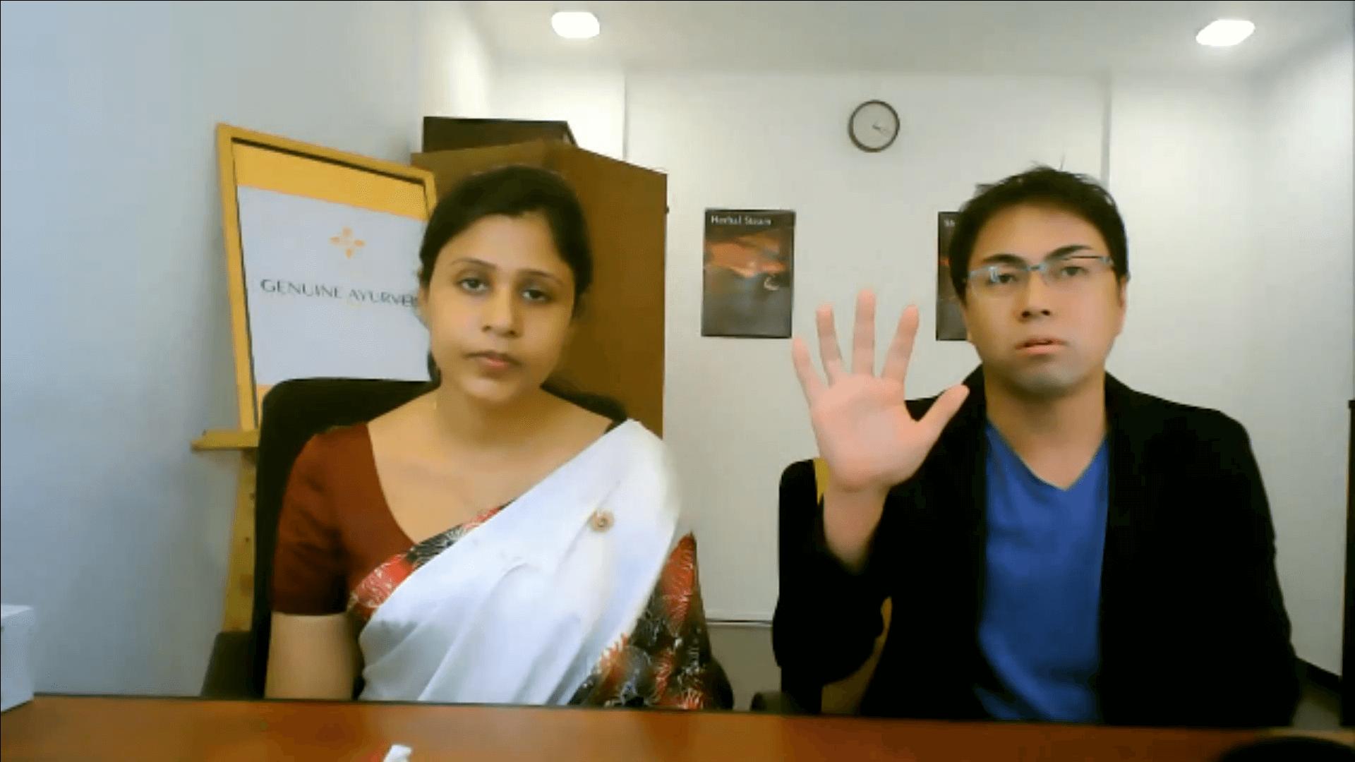 【第3回/3】Dr.チャトリのWeekdayライブ /アーユルヴェーダの「若返り術」アンチエイジング法を学ぼう!
